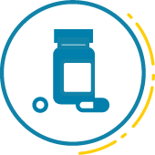 Icon for opioid epidemic